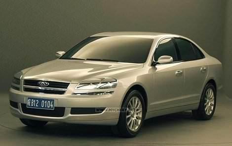 Chery B12 - Чери Б12 - китайский автомобиль бизнес-класса