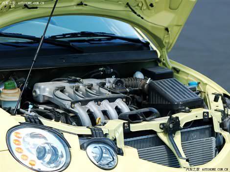 Тест-драйв Chery QQ6 - Jaggi (Чери Джагги) - двигатель