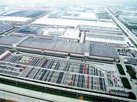 Чери автосборочное предприятие Chery в Китае