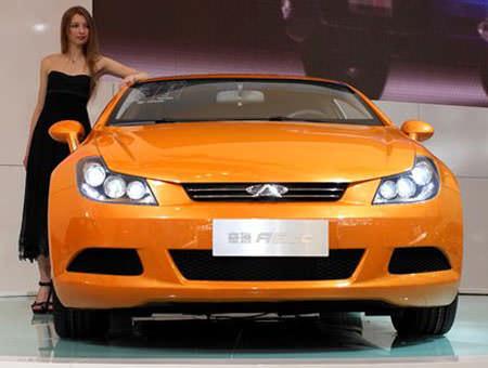 Chery a6 coupe - чери а6 купе