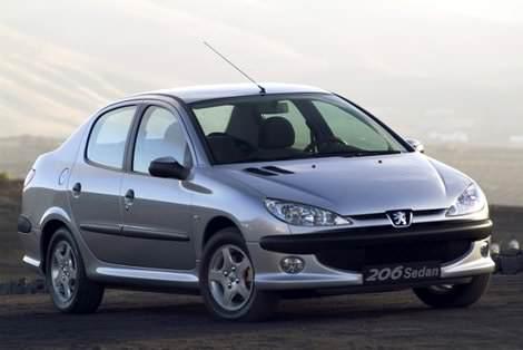 Пежо 206 седан - Peugeot 206 sedan