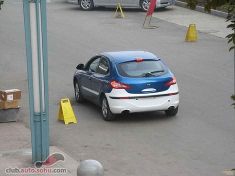 китайская машина Chery A3 - Чери А3 фото photo
