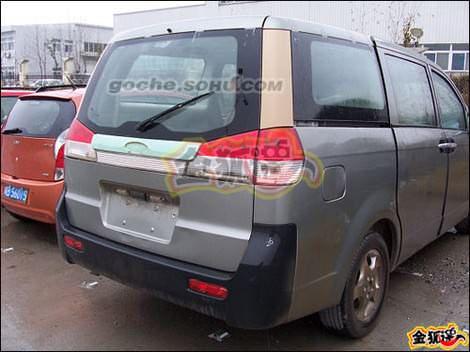 китайская машина минивэн Чери Б13 MPV Chery B13 photo