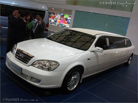фото Chery Eastar Limo foto, photo - китайский лимузин Чери Иастар Лимо