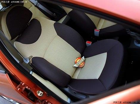 багажник Чери А1 Кимо -сиденья, двери Chery A1 Kimo оранжевого цвета foto