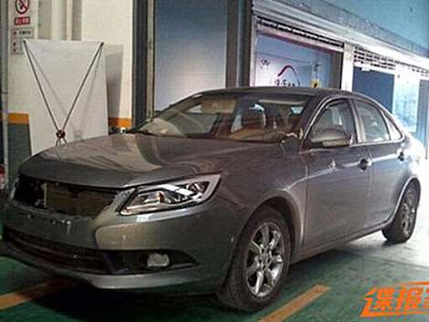 Chery M16 на базе М11 готовится к премьере на китайском рынке