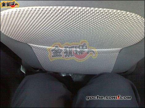 пространство для ног китайского автомобиля Chery QQ2(S18) - Чери куку2