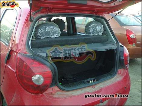 багажник китайского автомобиля Chery QQ2(S18) - Чери куку2