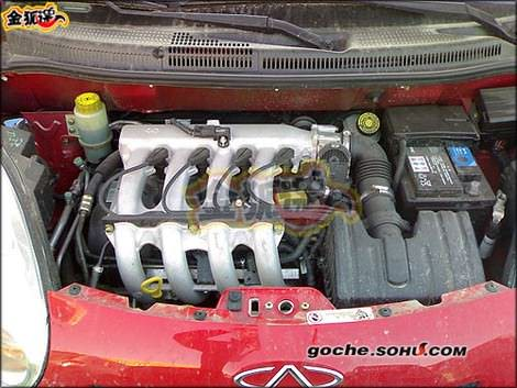 двигатель китайского автомобиля Chery QQ2(S18) - Чери куку2