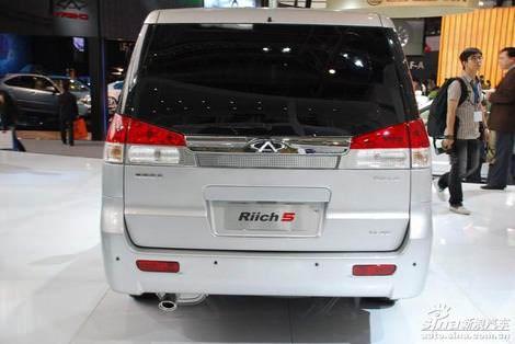 китайский минивэн Chery Riich 5 cnina minivan on Beijing 2008 фото photo foto