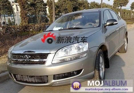 фото китайского автомобиля Chery Riich G6 foto photo chinese cars