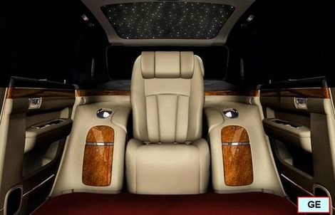 фото Geely GE phot foto - копии Rolls-Royce Phantom