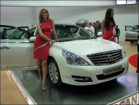 Киевский автосалон 2008