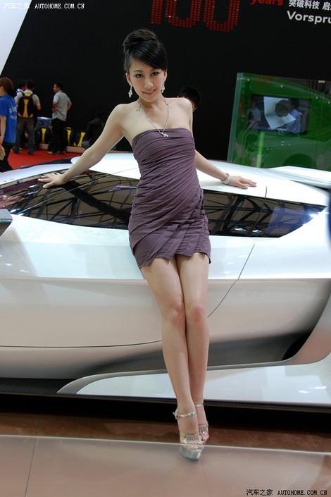фото девушек, азиатских моделей с Шанхайского автосалона - Shanghai Auto show 2009 girls, sexy models