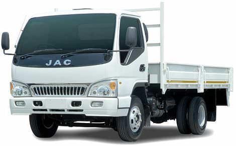Китайский грузовой автомобиль JAC-HFC-1061 грузоподъемностью 3 тонны