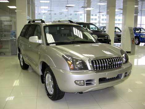 Китайский джип JAC Rein - аналог Hyundai Santa Fe