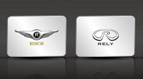 Chery Riich Rely логотипы Чери Рич Рили