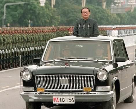 Бронированный китайский лимузин FAW Hong Qi