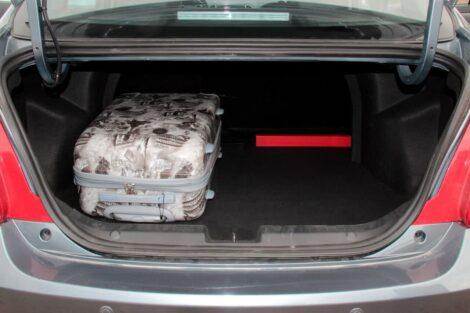 508-литровый багажника седана Бонус 3