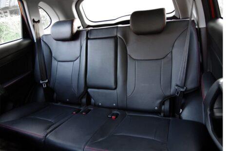 Удобства для задних пассажиров Chery Tiggo 5