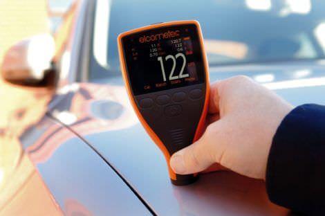 Проверка равномерности толщины металлического слоя кузова авто